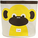 Monkey Toy Storage Bin