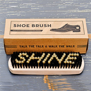 Gentleman's Wooden Shoe Brush