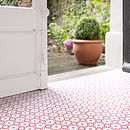 Rose Des Vents Vinyl Floor Tiles
