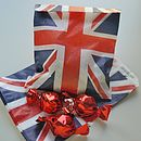 Pack Of 10 Union Jack Party Bags