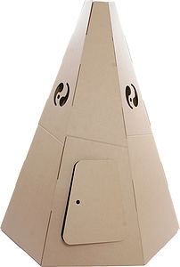 Paperpod Teepee Brown