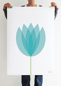 Tulip Flower Art Print - prints & art sale