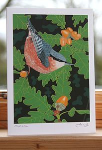 'Garden Bird' Greeting Cards