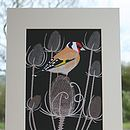'Garden Bird' Mounted Prints