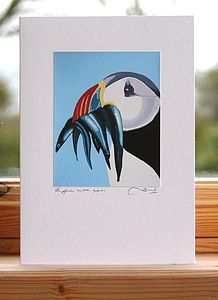 'Puffin' Greeting Cards