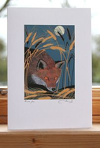 'Nocturnal' Greeting Cards