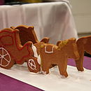 Gingerbread Horse And Carriage Decoration Kit