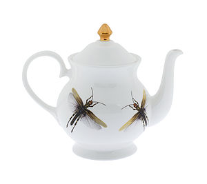 Dragonflies Bone China Teapot