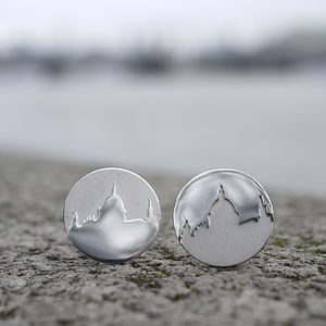 London Skyline Cufflinks - for young men
