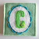 Personalised Felt Needle Case