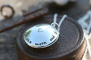 Personalised Locket With A Twist - children's jewellery
