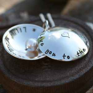 Personalised Locket With A Twist - wear it close