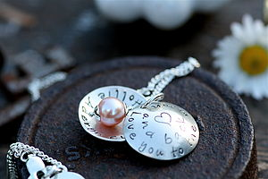 Personalised 'Love You To The Moon' Locket