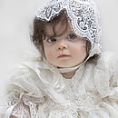 Christening Gown And Bonnet 'Amelia'