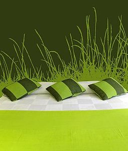 Long Grasses Wall Sticker - decorative accessories