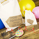 Personalised Birthday Mini Bag