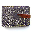 Lace Leather Card Case