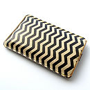 Chevron Leather Phone Case