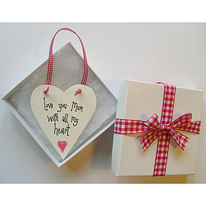 Personalised Mother's Day Love Token - gifts for the home