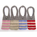 Pure Wool Knitted Bunny Bag