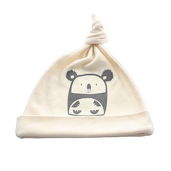 Cuddly Koala Organic Cotton Baby Hat