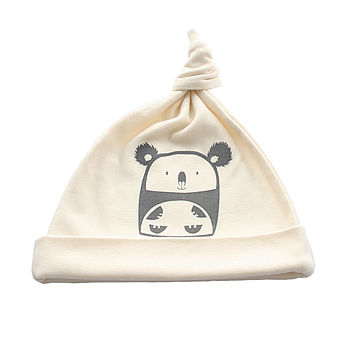 Cuddly Koala Organic Cotton Baby Hat