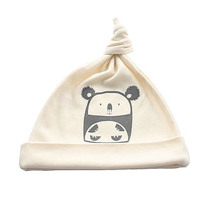 Cuddly Koala Organic Cotton Baby Hat - babies' hats