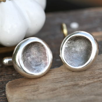 Fingerprint Who's The Daddy Cufflinks