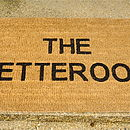 Personalised Doormat