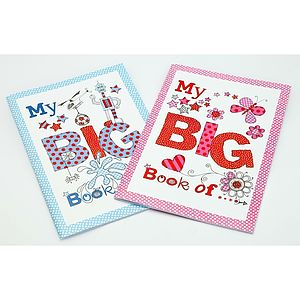 'My Big Book Of…' Notebook - winter sale