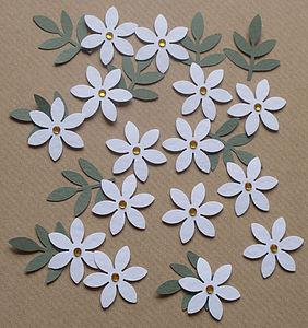 White Daisy Embellishments