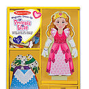 Magnetic Wooden Dress Up Billy Doll