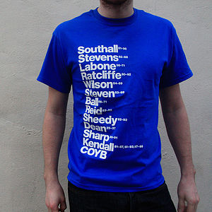 Best Everton Football Players T Shirt