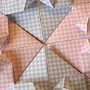 Colours of Origami Heart Baby Cards