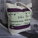 SALE! British Royal Train Ticket Tote Bag