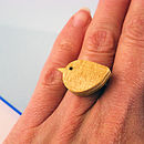 Wood Pigeon Ring