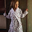 Horse Print Dressing Gown