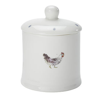 Chicken China Jam Jar