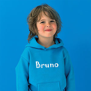 Personalised Name Hoodie - gifts for babies & children sale