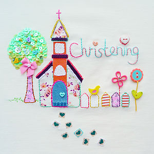 'Christening' Card - christening cards