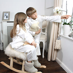 Children's Organic Cotton 'His' & 'Hers' Pjs - nightwear