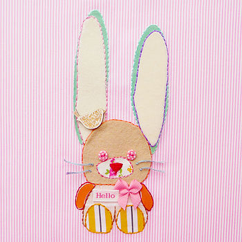 'Easter Bunny' Greeting Card