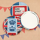 britsh london handbag mirrors