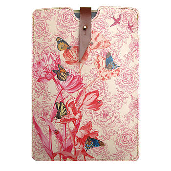 Springtime Leather Case For Kindle