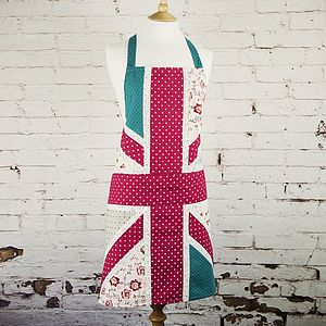 Vintage Style Union Jack Apron - kitchen accessories