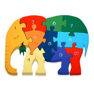Number Puzzle Educational Toy