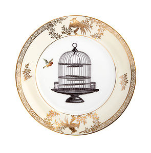 Upcycled Birdcage Vintage Side Plate - home accessories