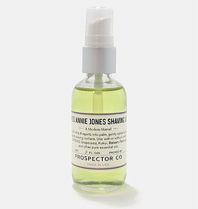Miss Annie Jones Shaving Oil - men's grooming