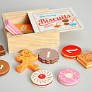 Wooden Play Biscuits