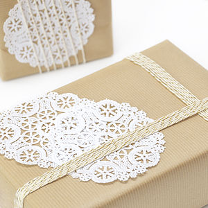 Paper Doilies - table decorations